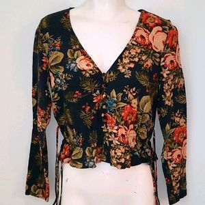 H&M - NWOT Beautiful Floral Blouse - 50% Off!